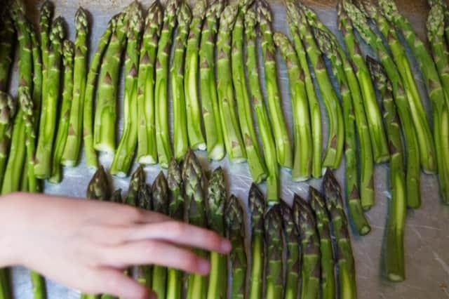 Prepped Asparagus
