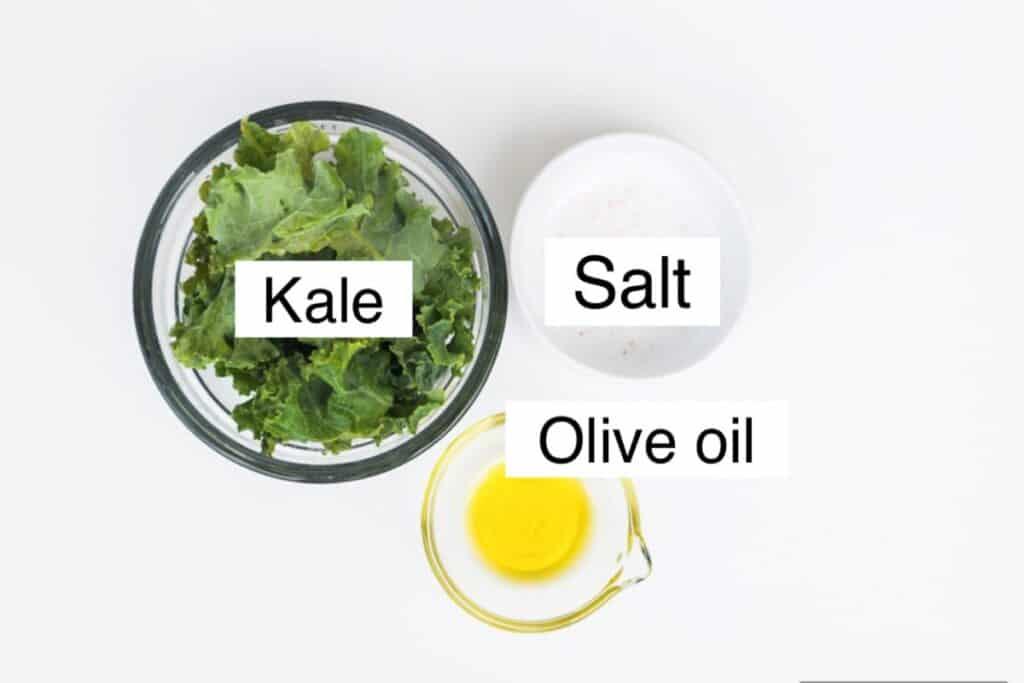kale chip ingredients, labeled